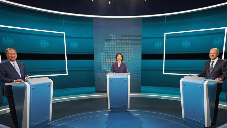 Germania o caută pe noua Merkel. Prima dezbatere televizată între principalii candidați lasă fără răspuns cea mai importantă întrebare