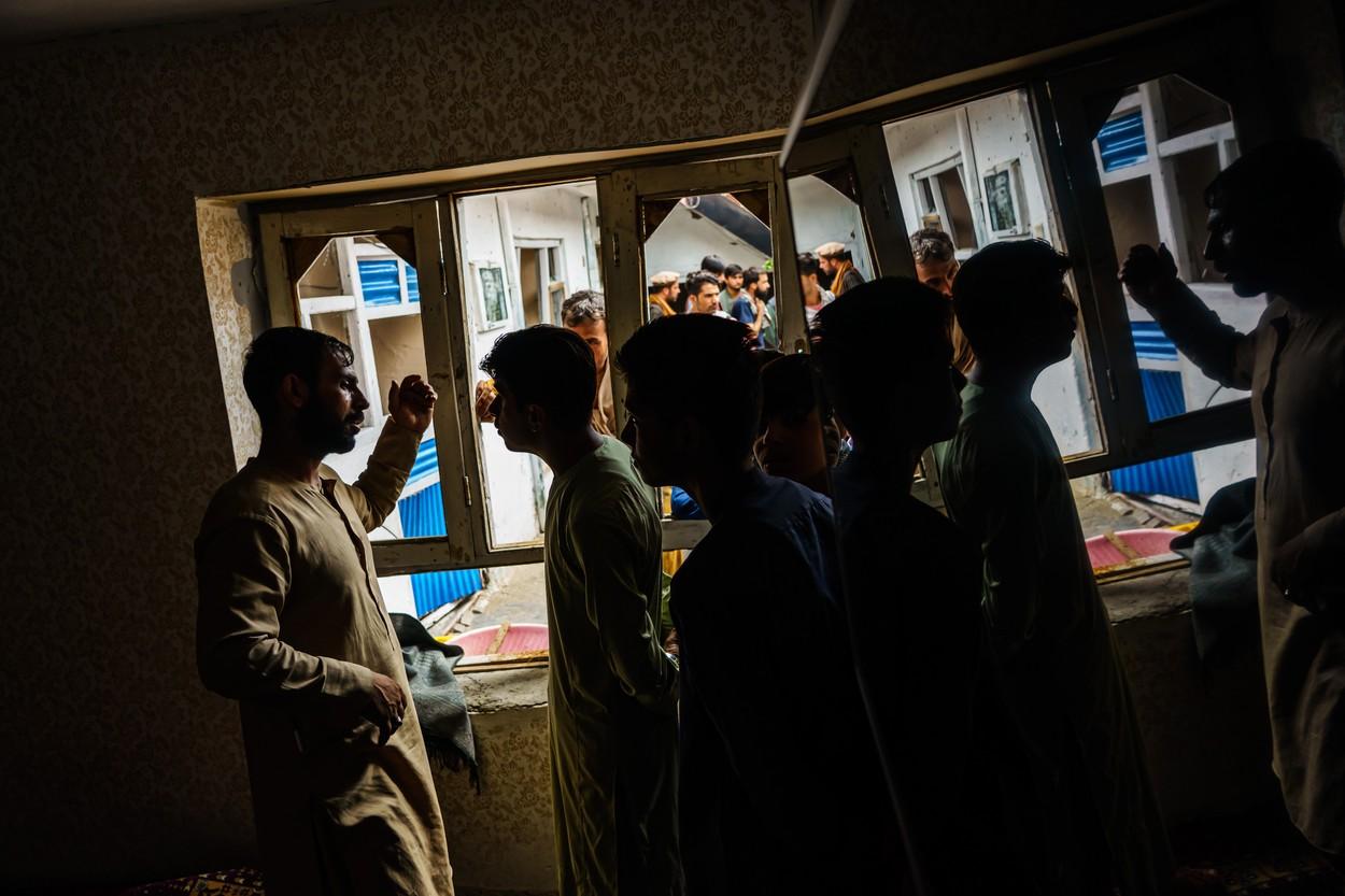 US AIRSTRIKE TARGETING ISIS-K, Kabul, Kabul Province, Afghanistan - 30 Aug 2021