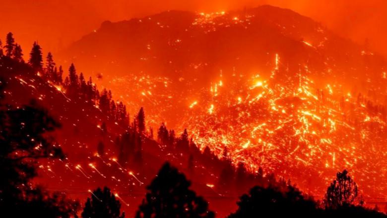 incendiu in california