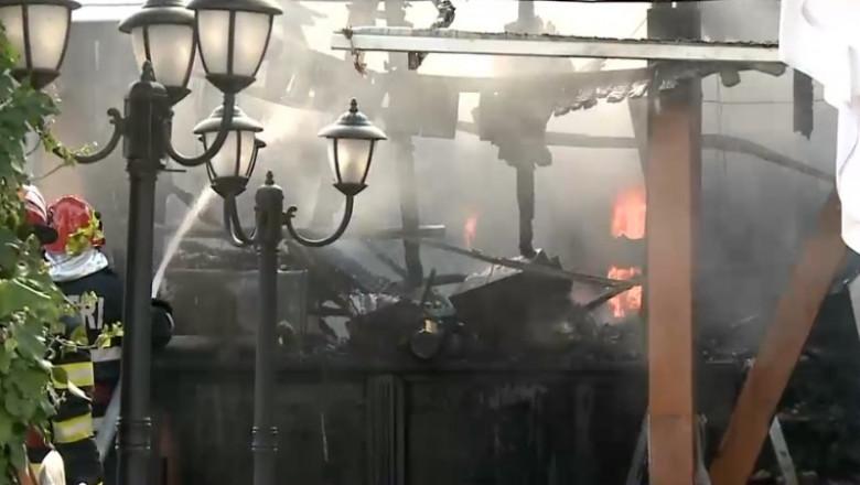 incendiu in mamaia