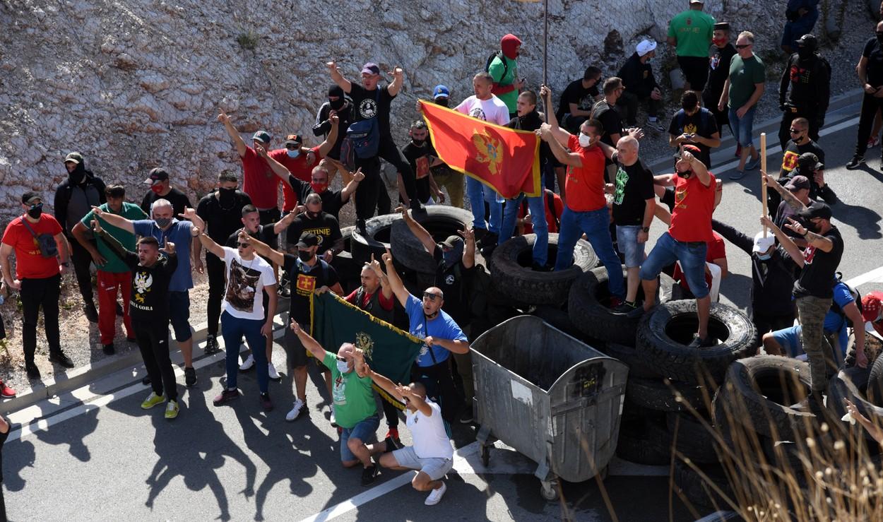 Cetinje protest profimedia-0630409777
