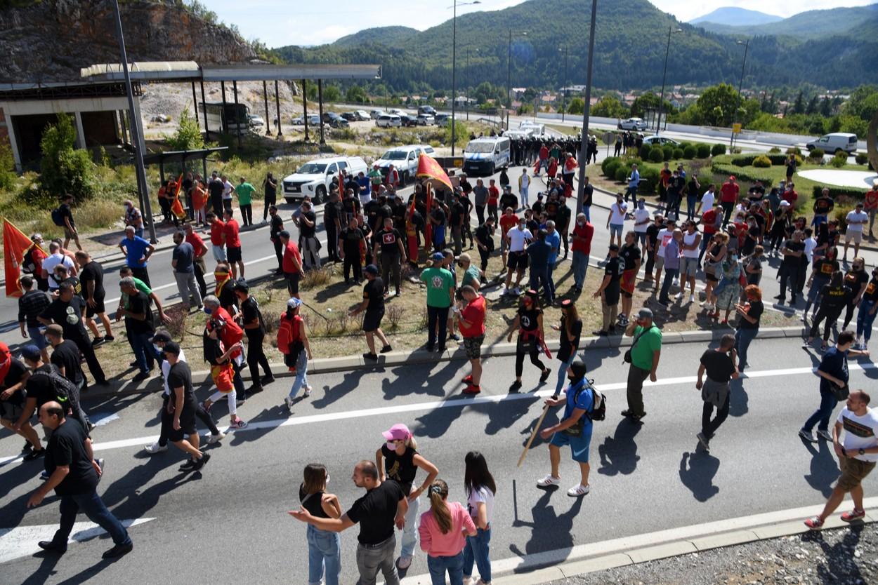 Cetinje protest profimedia-0630409750