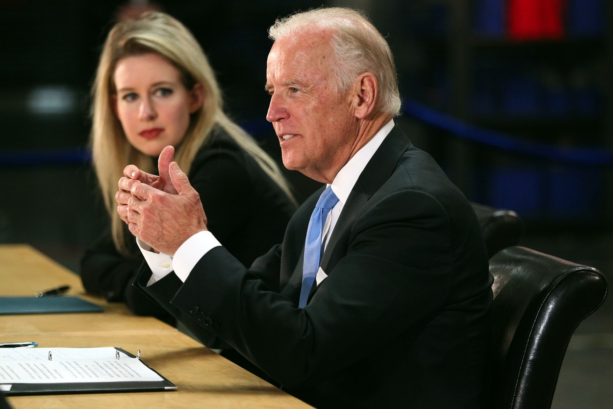 Vice President Joe Biden in Newark, Calif.