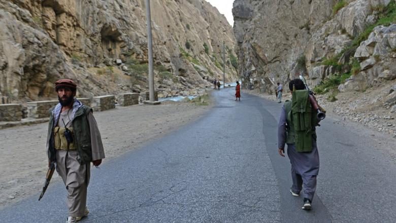 Forţele de opoziţie afgane din valea Panjshir