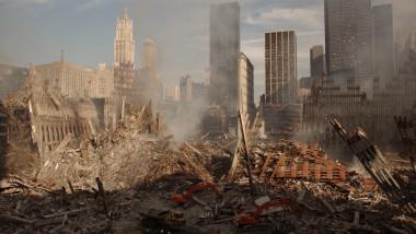 turnurile gemene distruse