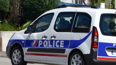 Mașină a poliției franceze.