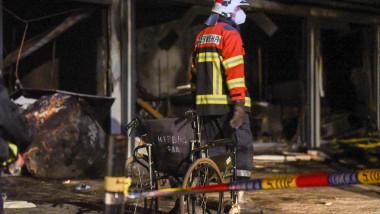 pompier incendiu macedonia nord