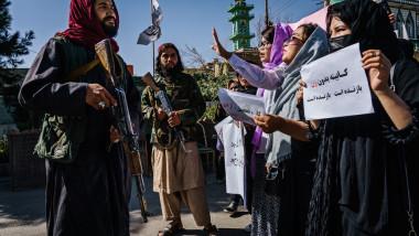 protest al femeilor din kabul
