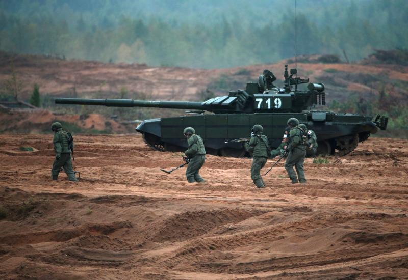 Zapad-2017 Russian-Belarusian exercises in Leningrad Region