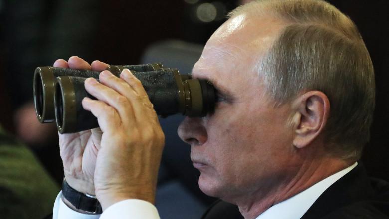 President Putin attends Zapad 2017 military drills