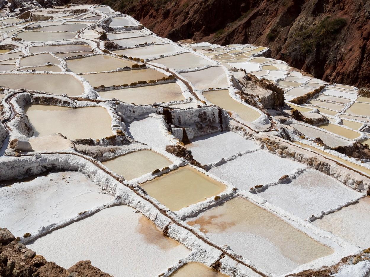 Marasal Salt Mine at Maras, Sacred Valley, Peru