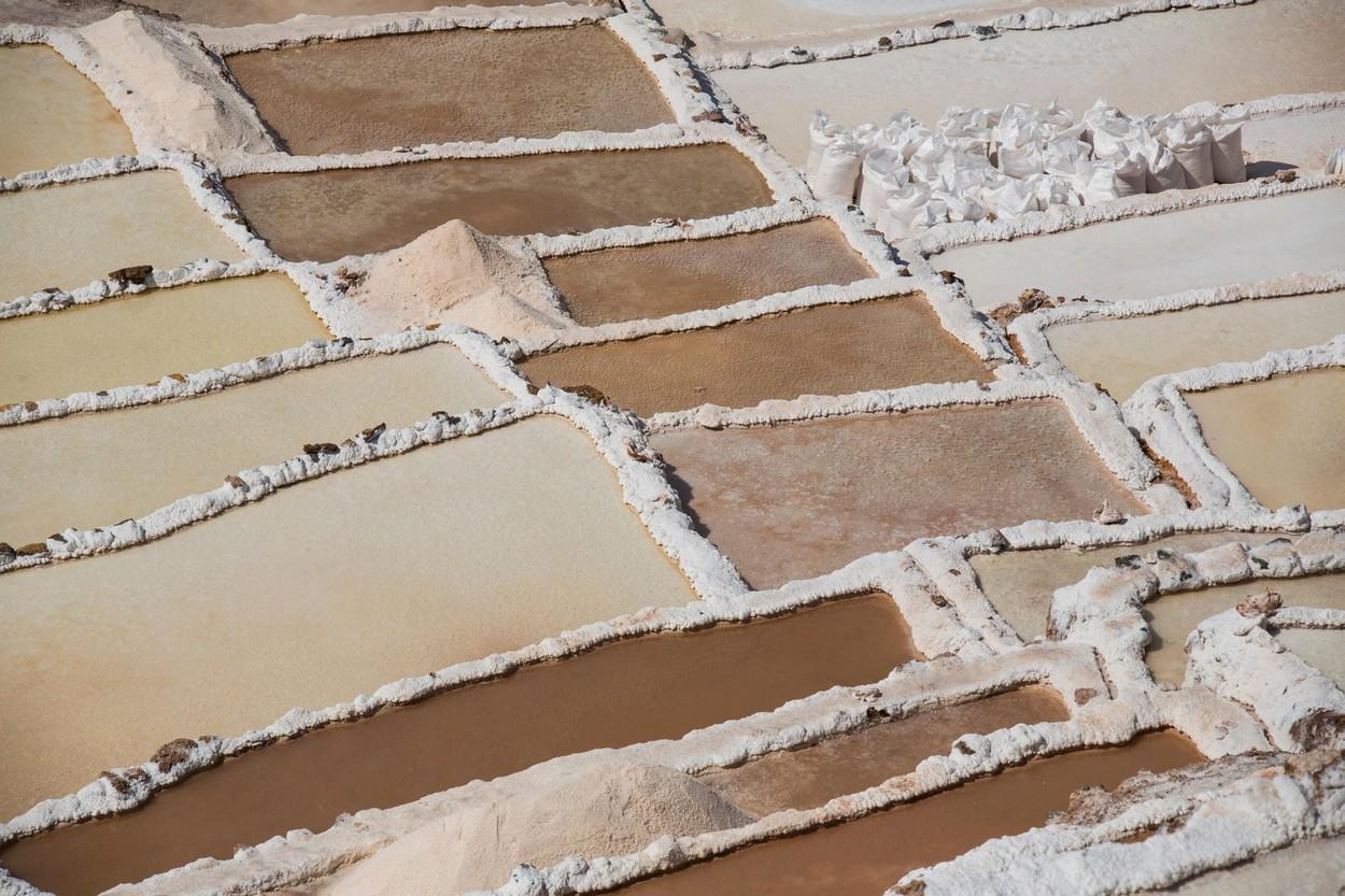 Salt terraces of Maras,