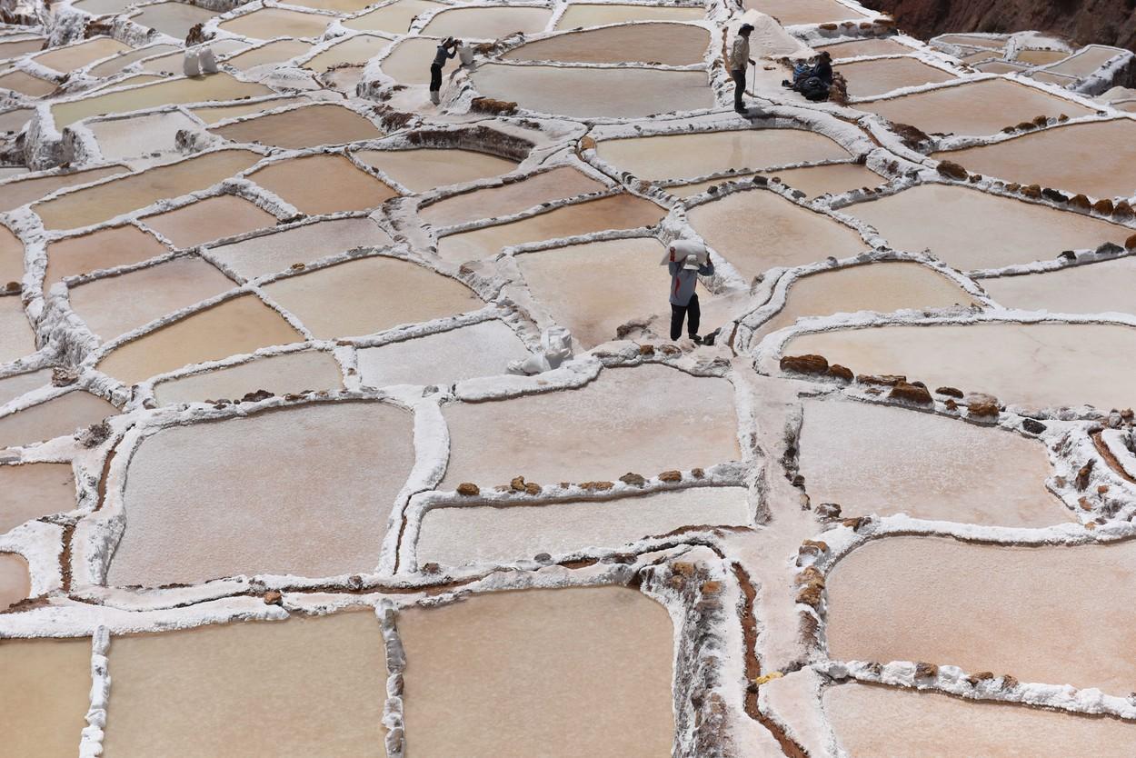 Salineras de Maras, Peru - 14 Sep 2019