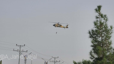 om atarnat de elicopter in afganistan