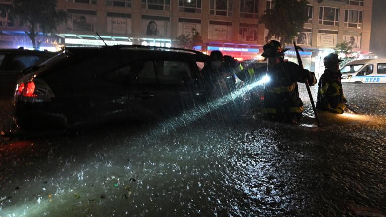 NY: Ida Remnants Flood Streets Of New York City
