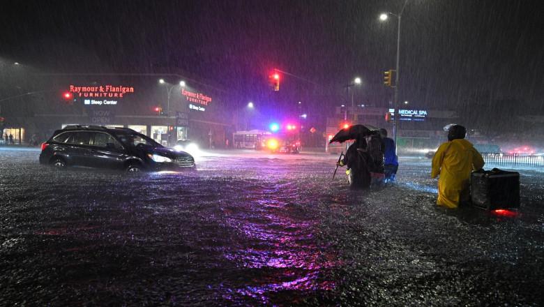 new york inundații