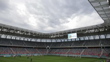 Imagine cu stadionul Steaua.