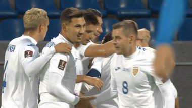 Jucători de la naționala de fotbal a României.