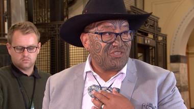 Rawiri Waititi, unul dintre liderii partidului Te Pati Maori din Noua Zeelandă