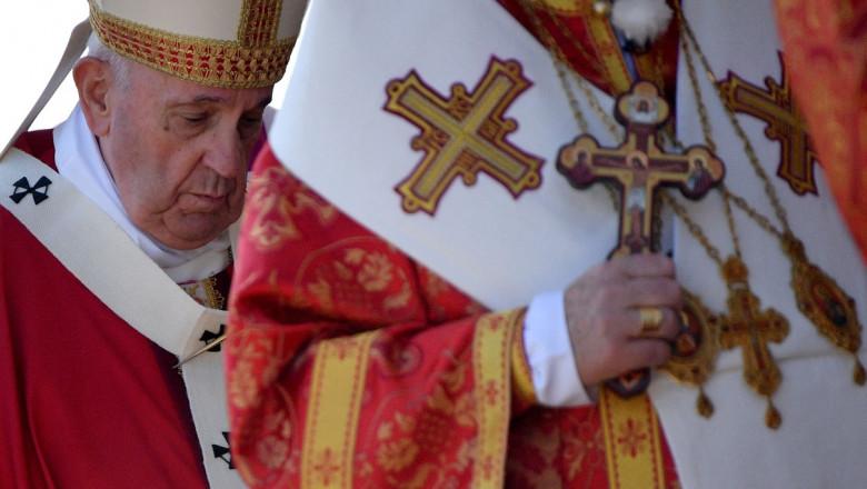 Papa Francisc, în vizită în Slovacia.