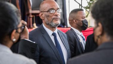 Premierul haitian Ariel Henry