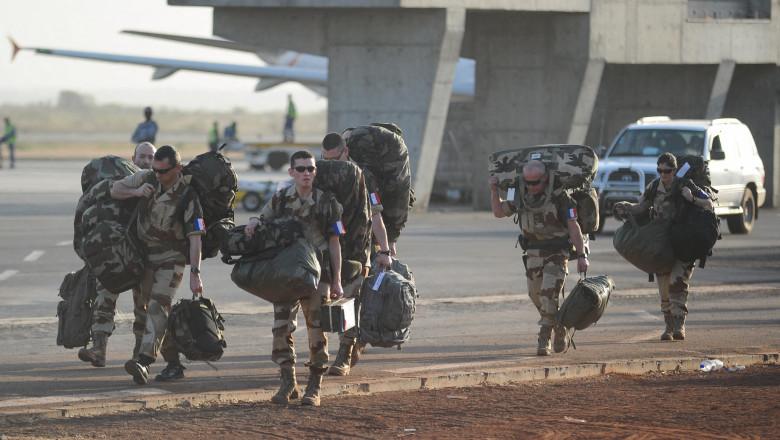 Soldați francezi în Mali