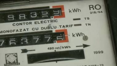 Contor energie electrică.