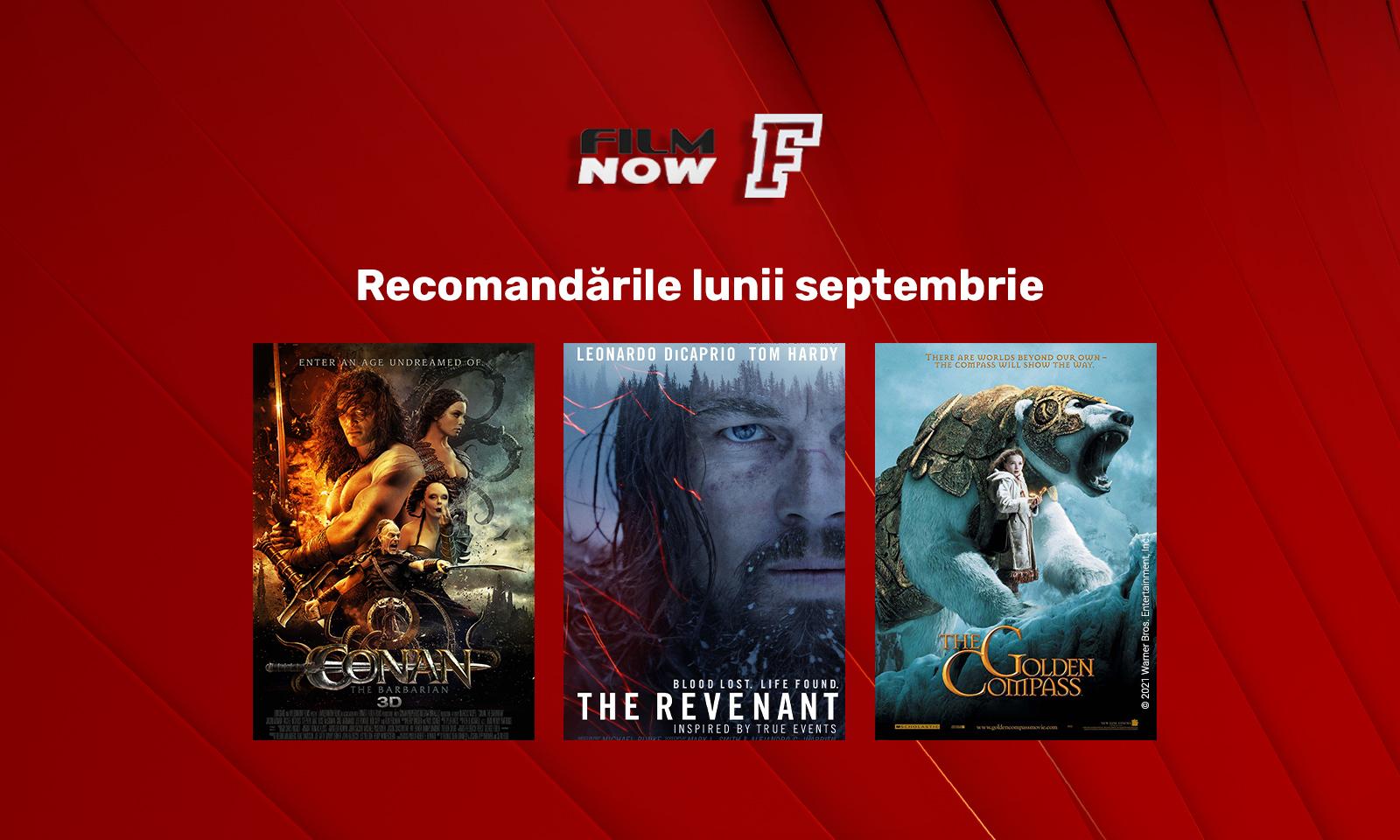 In septembrie, Film Now dedica cea de-a patra saptamana productiilor de aventura