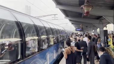 Connecting Europe Express in gara de nord