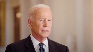 Joe Biden președintele SUA, într-un clip video la comemorarea a 20 de ani de la atentatele teroriste de la 11 septembrie.