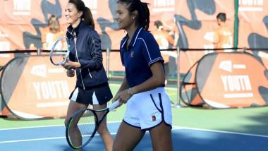 The Duchess Of Cambridge Meets British US Open Champions