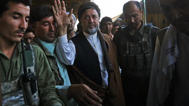 Mohammad Mohaqiq, şeful comunităţii hazara
