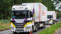Post Brexit, Lorry Driver shortage, Aylesbury, Buckinghamshire, UK - 09 Sep 2021