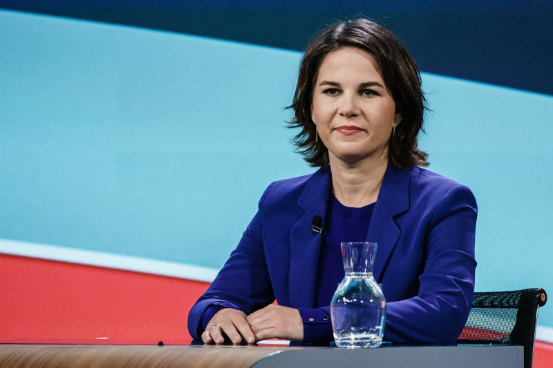Last Television Debate For Election 2021, Berlin, Germany - 23 Sep 2021