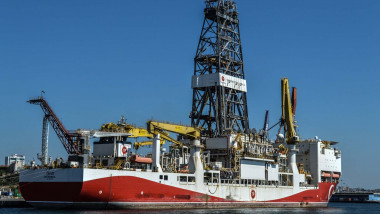 Turkish drilling ship Yavuz Istanbul at Haydarpasa Port in Istanbul, Turkey, on Tuesday, August 17, 2021