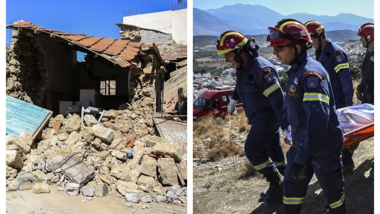 Cutremur puternic în Creta