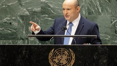 Naftali Bennett susține primul său discurs ca premier la Adunarea Generală a ONU