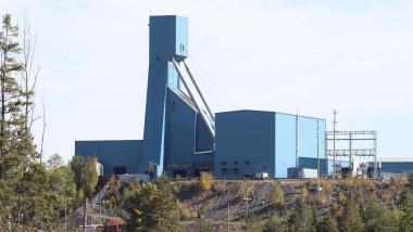 The Totten Mine near Sudbury, Ontario