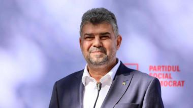 Marcel Ciolacu la microfon