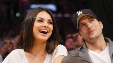Celebrities watch the LA Lakers vs. Phoenix Suns at the Staples Center