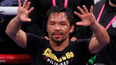 Starul boxului din Filipine Manny Pacquiao