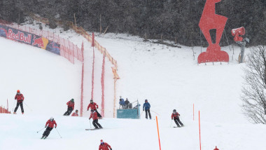 partie de schi austria