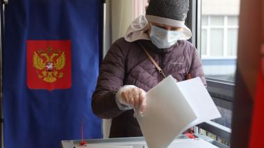 alegeri parlamentare in rusia, sectie de vot