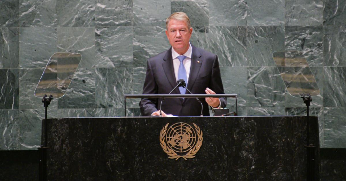 Iohannis, la Adunarea Generală a ONU: E momentul potrivit să transformăm criza COVID în oportunitate de... - Digi24