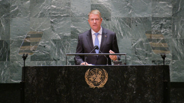 klaus iohannis la ONU