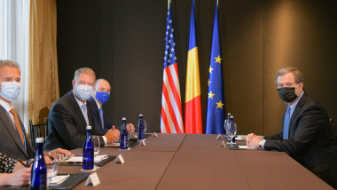 Klaus Iohannis, la o întrevedere cu preşedintele American Jewish Committee