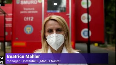 Managerul Institutului Marius Nasta, Beatrice Mahler.