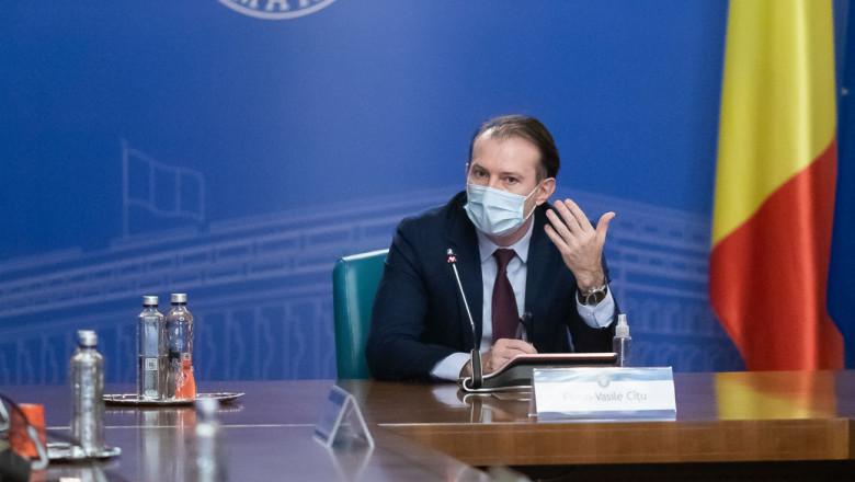 Premierul Florin Cîțu.