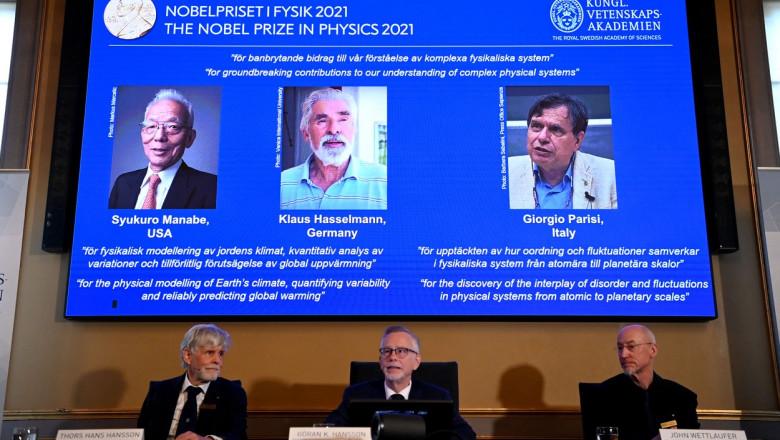 decernarea premiului nobel pentru fizica