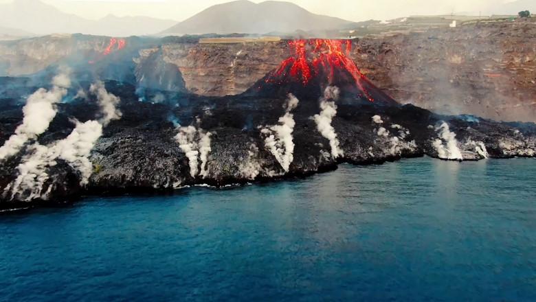 vulcanul la palma